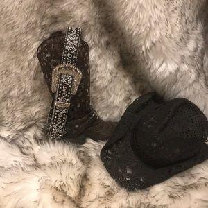 Accessories - Genuine leather wester belt